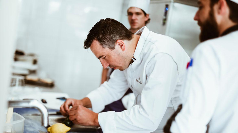Chef Matthias Van Eenoo cuisine
